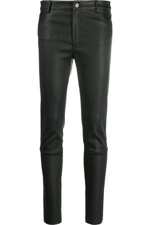 DROME Mid-rise slim-cut trousers