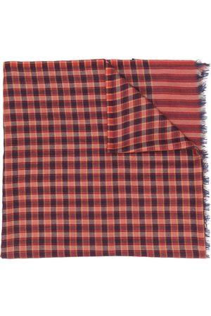 Etro Check-print scarf
