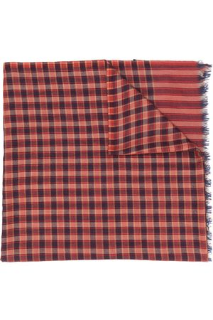 Etro Men Scarves - Check-print scarf