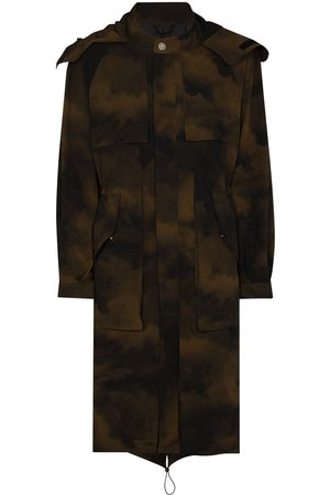 A-cold-wall* Camouflage print coat - Multicolour