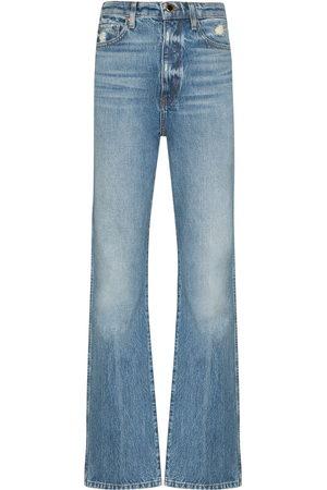 Khaite Danielle straight leg jeans