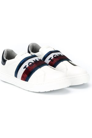 Tommy Hilfiger TEEN slip on logo trainers