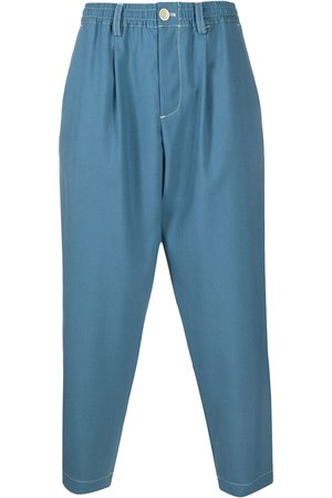 Marni Drop-crotch tapered trousers