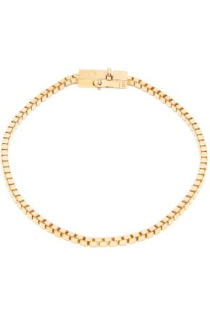 TOM WOOD Men Bracelets - -vermeil Box-chain Bracelet - Mens