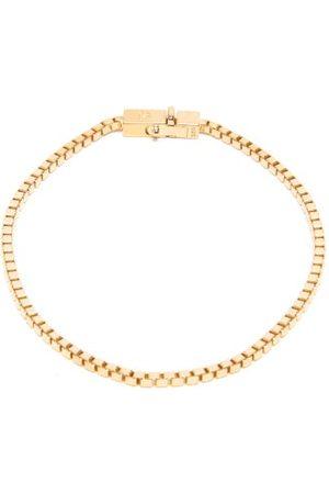 TOM WOOD -vermeil Box-chain Bracelet - Mens
