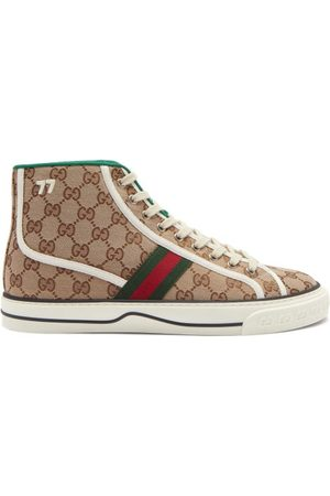 Gucci Men Sneakers - Tennis 1977 High-top Gg-canvas Trainers - Mens