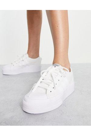 adidas Nizza platform sneakers in