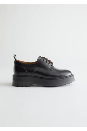 & OTHER STORIES Chunky Leather Oxfords