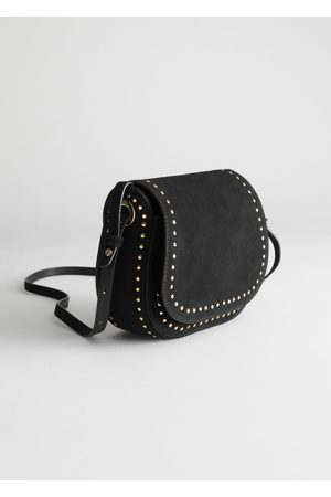 & OTHER STORIES Studded Suede Shoulder Bag