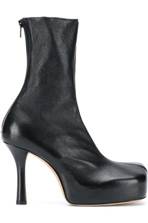 Bottega Veneta Square toe ankle boot