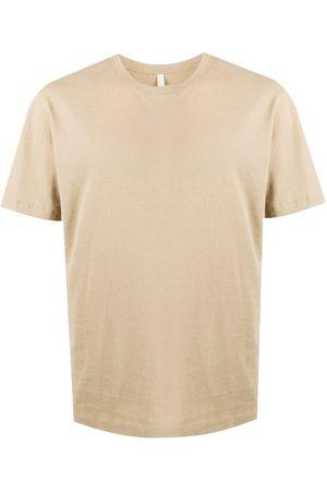 Sunflower Short sleeved cotton t-shirt - Neutrals