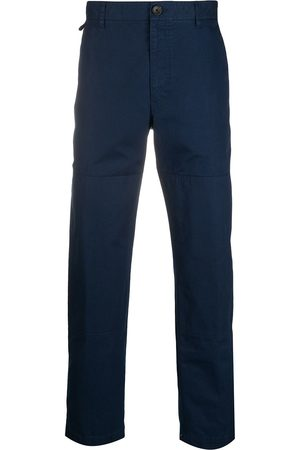 Lanvin Cropped length cotton trousers