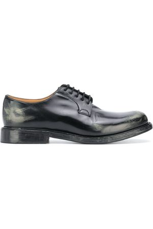 Church's Shannon distressed Derby shoes