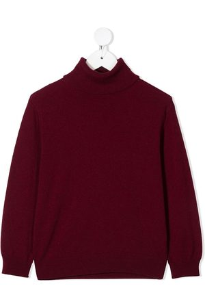 Dsquared2 Logo intarsia roll neck jumper