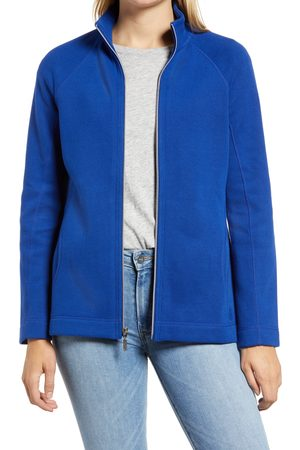 Tommy Bahama Women's New Aruba Zip Front Stretch Cotton Jacket