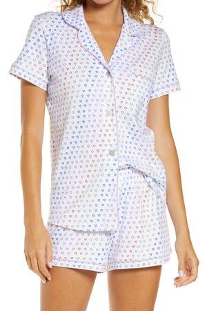 Roller Rabbit Women's Disco Hearts Polo Short Pajamas