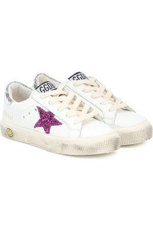 Golden Goose Girls Sneakers - May leather sneakers