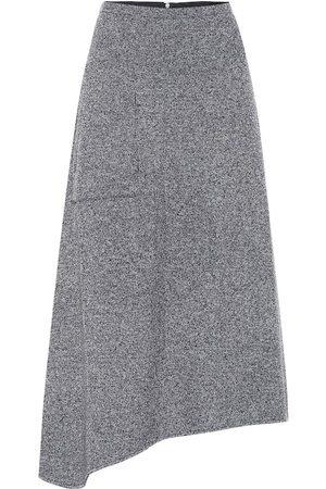 tibi Asymmetric midi skirt