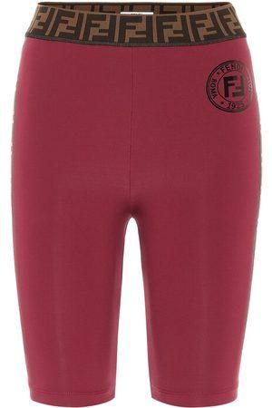 Fendi FF biker shorts