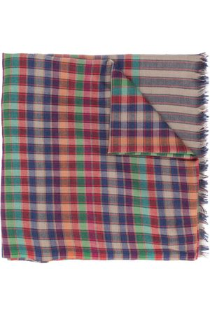 Etro Men Scarves - Check-print scarf
