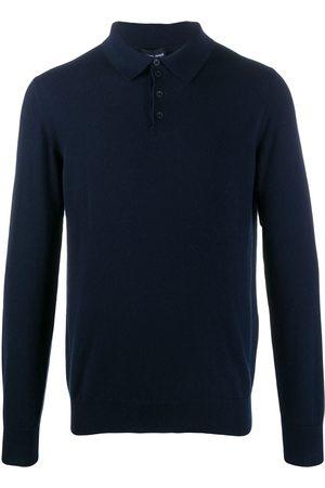 Armani Classic long sleeve polo shirt