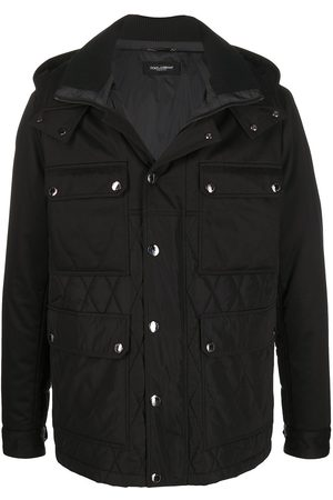 Dolce & Gabbana Quilted hooded jacket