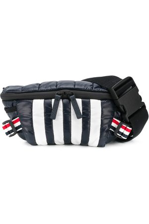 Thom Browne 4-Bar quilted ripstop belt bag