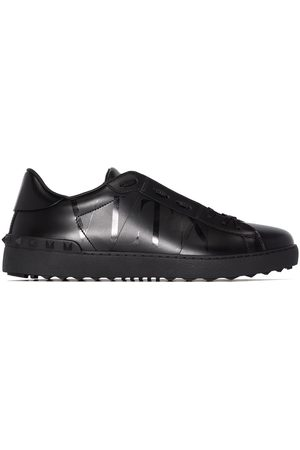 VALENTINO GARAVANI Men Sneakers - Open leather sneakers