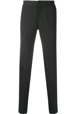 Sandro Men Formal Pants - Cotton tailored trousers - Grey