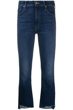 Mother Women Skinny - Raw-cuff mid jeans
