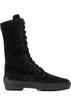 Tod's Women Lace-up Boots - Lace-up calf-length boots