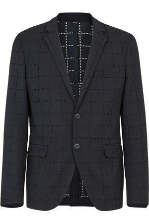 Fendi Deconstructed slim blazer