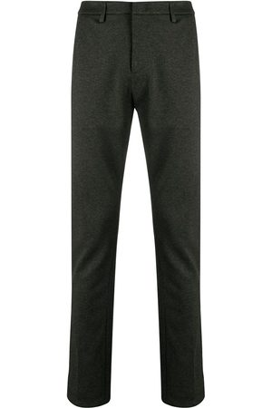 Dondup Slim-fit piqué trousers - Grey