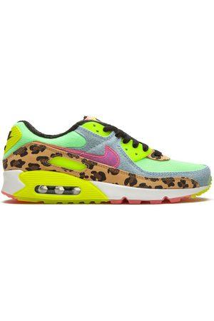 """Nike Air Max 90 LX """"Denim Leopard Print"""" low-top sneakers"""