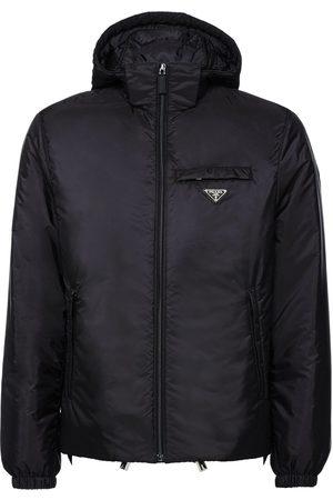 Prada Hooded puffer jacket