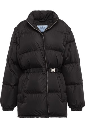 Prada Padded belted jacket