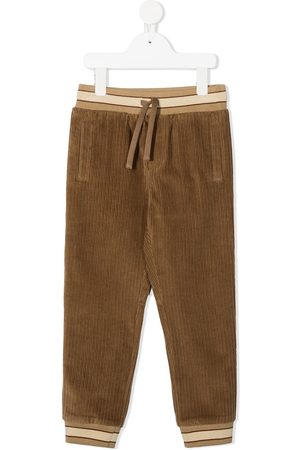 Dolce & Gabbana Corduroy track pants - Neutrals