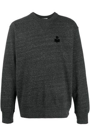 Isabel Marant Logo-embroidered jumper - Grey