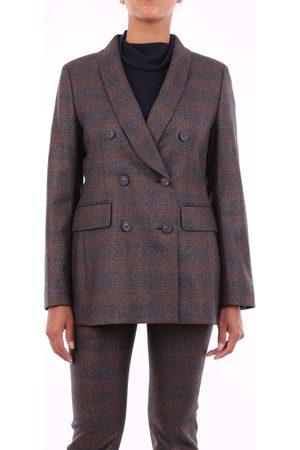 PESERICO SIGN Women Blazers - Blazer Women Fantasy rust virgin wool - polyester and spandex