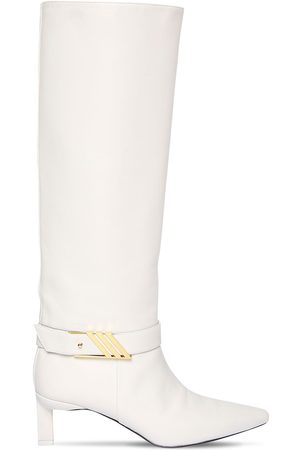 The Attico 55mm Leather Tall Boots