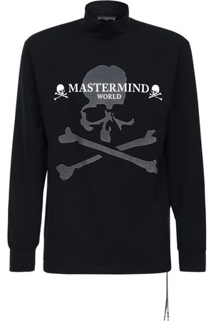 MASTERMIND Reflective Cotton Long Sleeve T-shirt