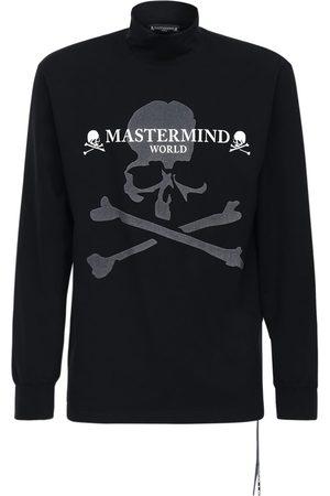 MASTERMIND Reflective Cotton Long Sleeve T-shirt