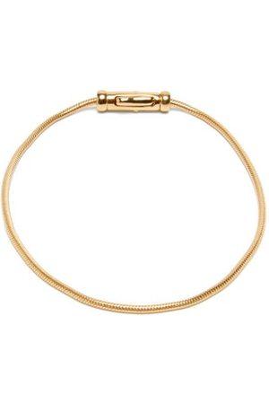 TOM WOOD Men Bracelets - -vermeil Herringbone-chain Bracelet - Mens