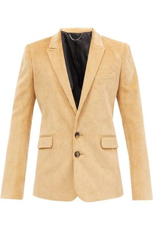 Paco rabanne Single-breasted Cotton-corduroy Jacket - Mens