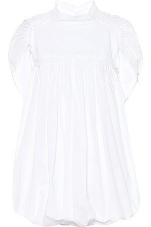 ANN DEMEULEMEESTER Pleated cotton blouse