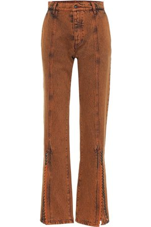 Y / PROJECT High-rise flared jeans