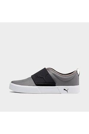 PUMA Men's El Rey II Slip-On Casual Shoes in Grey Size 7.5 Canvas