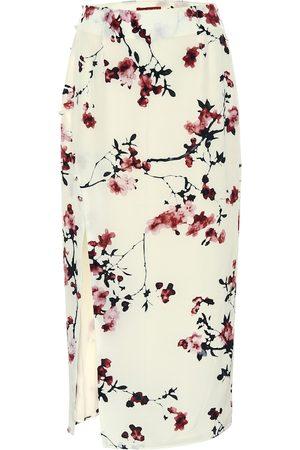 Altuzarra Edmund floral silk pencil skirt