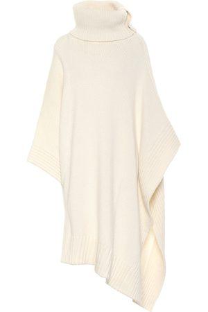 Stella McCartney Wool-blend poncho