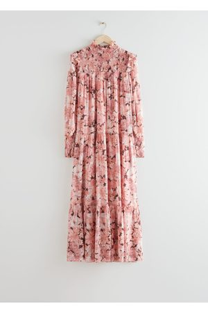 & OTHER STORIES Smocked Maxi Dress